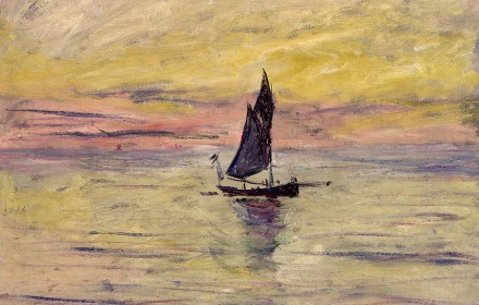 the-sailing-boat-evening-effect-claude-monet